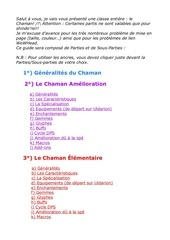 guide chaman pve