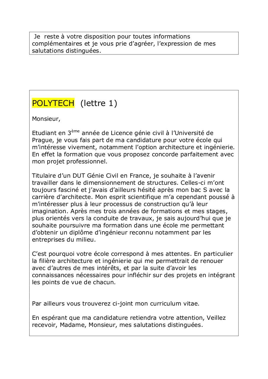 Lm Brouillon Par Alexis Arrestier Fichier Pdf