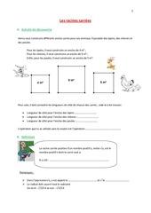Fichier PDF les racines carrees
