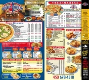 menu quebec drive in