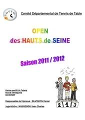 tournoi open 2012 horaires et qualifie e s 1