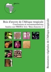 prota essences forestieres bois d oeuvre de l afrique tropicale