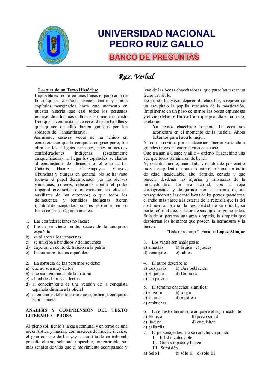 Aperçu du document 01. Razonamiento Verbal.pdf - page 1/28