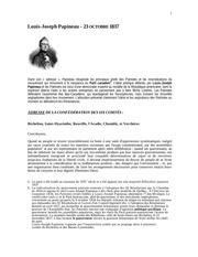 Fichier PDF adresse louis joseph papineau