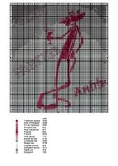 panthere rose dessin isa