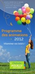 programme anim pouilly 2012