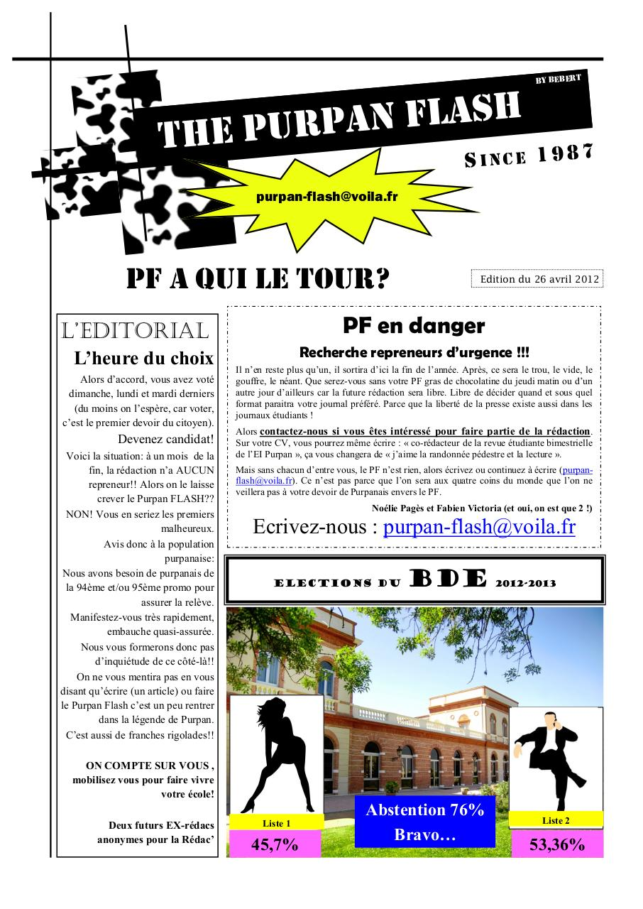 Aperçu du document Purpan Flash de FIN AVRIL.pdf - page 1/10