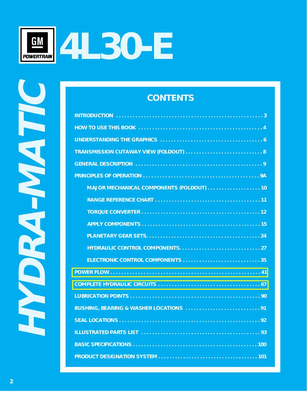 Bote de vitesse 4L30E - Fichier PDF