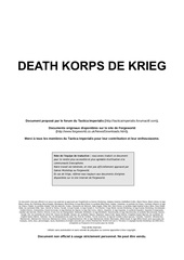 death korp de krieg vf par le tactica imperialis