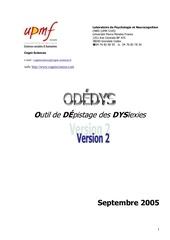 Fichier PDF odedys2 04 2009 1