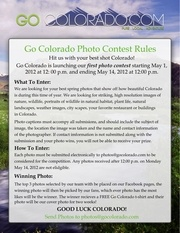 photo contest rules