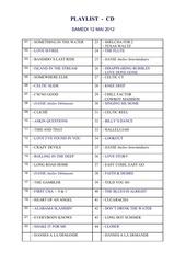 2012 05 playlist bal cd 12 mai