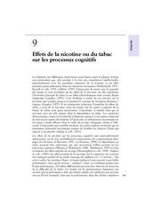 Fichier PDF effets de la nicotine ou du tabac sur les processus cognitifs
