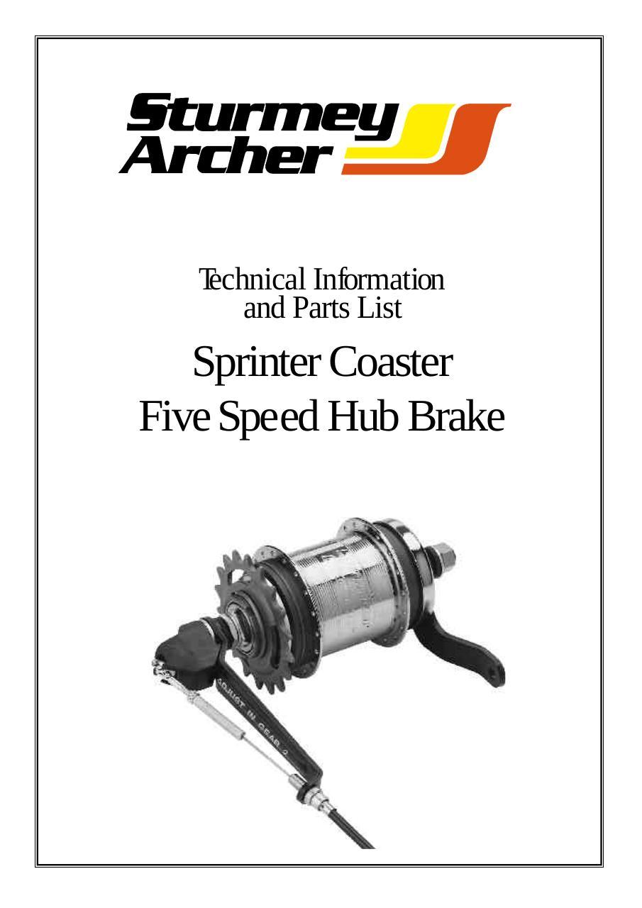 Bike-Cycle-Bicycle Sturmey Archer Pawl R-Spring Hsa120