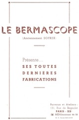 bermascope b53 notice 2