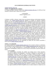 Fichier PDF les conditions generales de vente