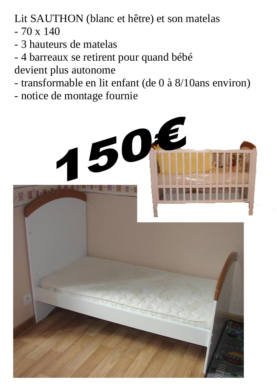 notice montage lit sauthon. Black Bedroom Furniture Sets. Home Design Ideas