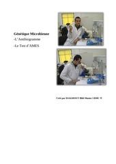 genetique microbienne