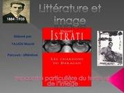 litterature et image expose