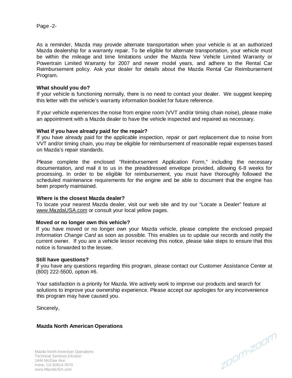 Page 2 par Mazda - ssp 87 pdf - Fichier PDF