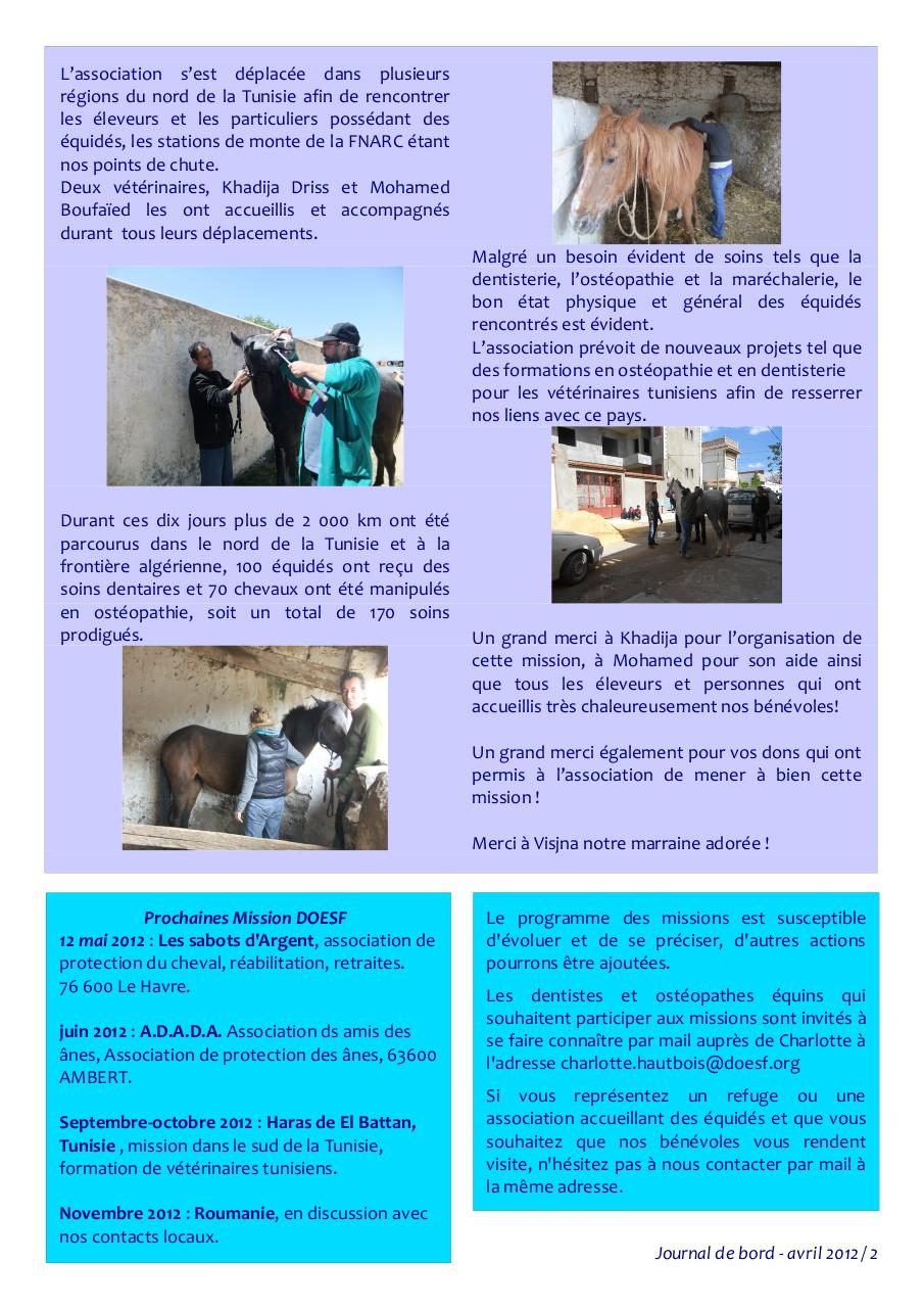 Aperçu du document newsletter doesf avril 2012.pdf - page 2/4