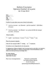 bulletin d inscritpion operation paintball 88 partie du 13 mai 2k12
