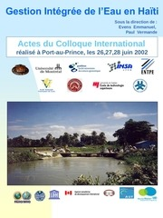 colloque internationale gestion integree de l eau en haeti