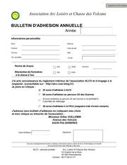 Fichier PDF formulaire alcv adhesion v2012