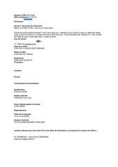 Fichier PDF offres