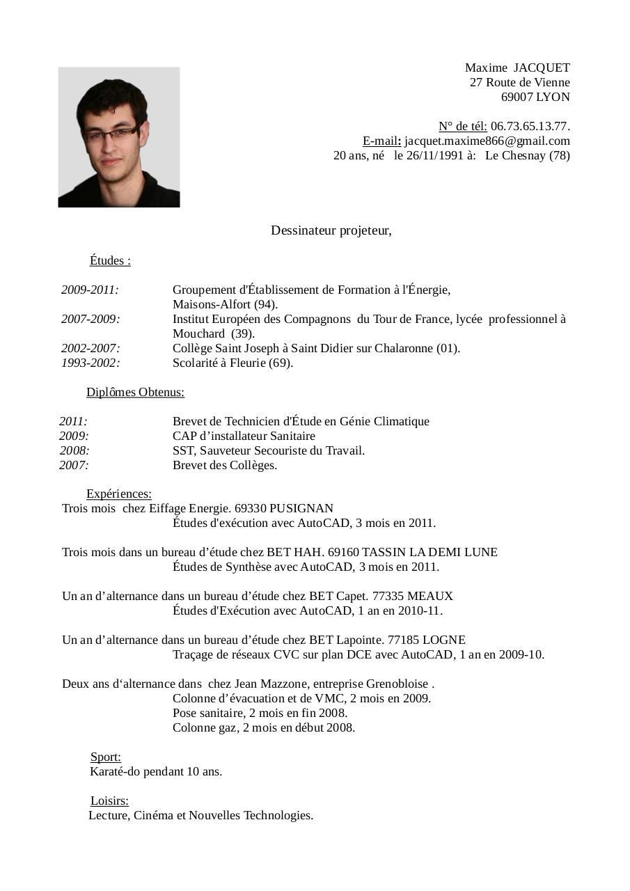 cv 2012 maxime jacquet -1 pdf par madjack