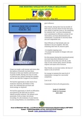 bulletin of the governor gbadoe may 2012