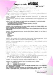Fichier PDF reglement du concours french kiss dj 1