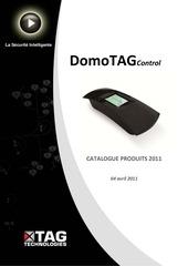 Fichier PDF catalogue produits domotag