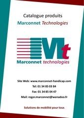 catalogue produits handicap marconnet technologies