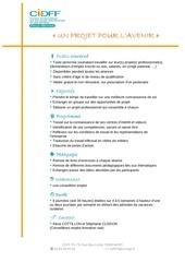 Fichier PDF descriptif un projet pour l avenir 2012
