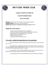 conseil d administration du 24 avril 2012