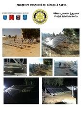 projet soleil de nefta photovoltaique pompage eau
