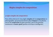 5 regles simples de composition