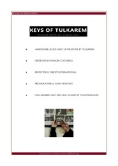 dossier de presentation keys of tulkarem