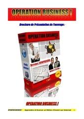 Fichier PDF operation business