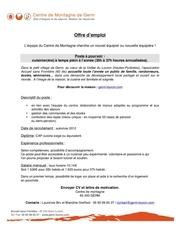 Cv julien humbert par stagiaire9 fichier pdf for Offre d emploi cuisine collective