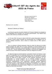 120521 courrier ministre abrogation decrets