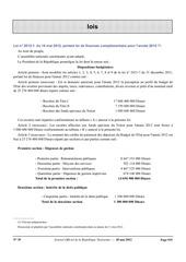 loi de finances complementaire2012