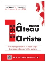 programme 1chateau1artiste 2012