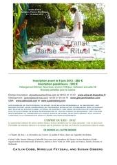danse transe rituel 2012