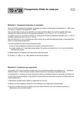 td28 changements d etats