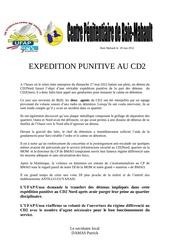 expedition punitive au cd2