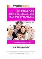 60 conseils vie famille et relations harmonieuses