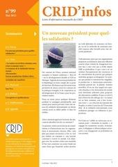 crid infos mai 2012