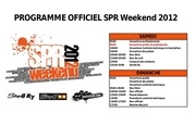 programme officiel spr weekend 2012